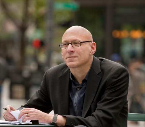 Author photo of David Shields, 2012.